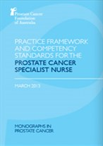 Practice Framework and Competency Standards for the Prostate Cancer Specialist Nurse
