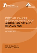 Prostate Cancer Information Needs of Australian Gay and Bisexual Men