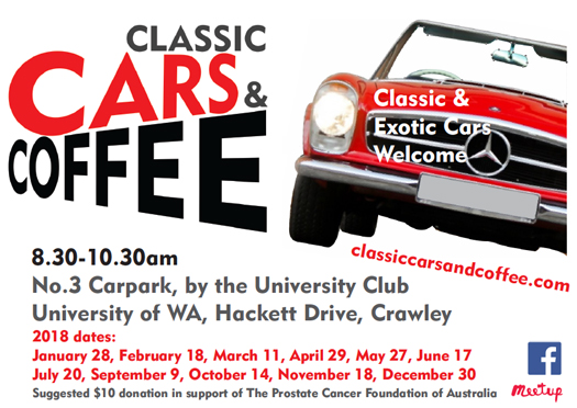 Classic Cars and Coffee - Flyer