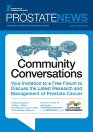Prostate News - Issue 69 - March 2018