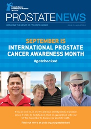 Prostate News - Issue 70 - August 2018