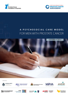 A Psychosocial Care Model for Men with Prostate Cancer